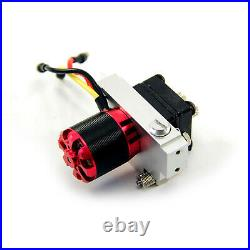 Hydraulic Gear Pump Metal Power Pump with Relief Valve for 1/14 RC Trailer Truck