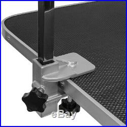 Hydraulic Grooming Table for Pets Dogs Adjustable Table Non-Slip Top, Black