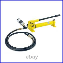 Hydraulic Hand Pump with Hose Coupler & Pressure Gauge 700Bar for Hydraulic Using