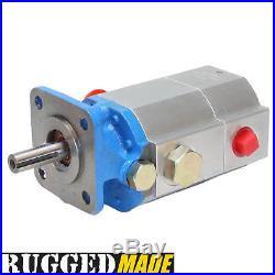 Hydraulic Log Splitter Pump, 11 GPM 2 Stage 3000 PSI Gear Pump For Wood Splitter