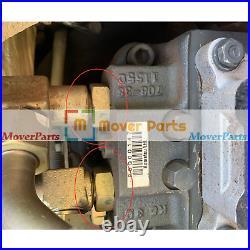 Hydraulic Main Pump 708-1S-11212 for Komatsu PC50MR-2 PC35MR-2 PC45R-8 PC40MR-2