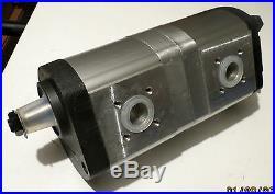 Hydraulic Pump doppelpumpe SUITABLE FOR DEUTZ 16 +11 CCM / 0510665382/01176000