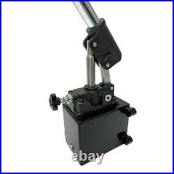 Hydraulic piston hand pump with release knob for single acting cylinder 2.7 CID