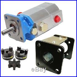 Log Splitter Hydraulic Kit, 13 GPM Pump, Mount, Coupler For Speeco & Many Others
