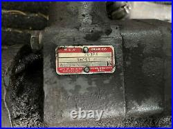 M&W Gear Co. Live Hydraulic Pump For Farmall MD Tractor Good Used Tested