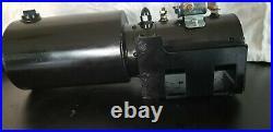 Marek Hydraulic Lift Pump Motor OEM 17-NA-1004 24 Volt for Truck, Bus, RV, Coach