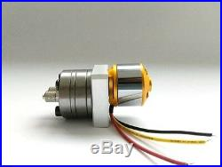 Mini hydraulic gear Pump withESC for tamiya 1/14 benz actros 3348 tipper use