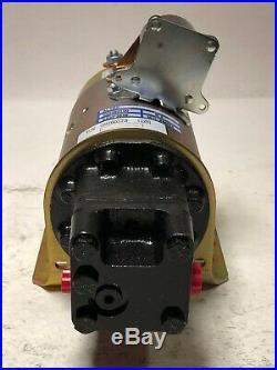 NEW ALTEC 12V ELECTRIC MOTOR HYDRAULIC PUMP for BOOM LIFT TRUCK OEM