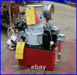 Power Team PTM RWP55-IBT-AIR PNEUMATIC HYD. PUMP for TORQUE (Unused)