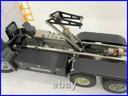 RC Car Parts Accs Hydraulic Cylinder Oil Pump F Support For 1/14 Tamiya Trailer