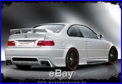 REAR BOOT SPOILER BMW 3 E46 (Saloon & Coupe & Cabrio 1998-2007)
