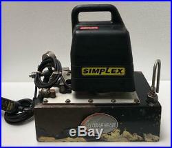 Simplex 7750012 Electric Hydraulic Pump/ Power Pack For Hydraulic Torque Wrench