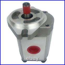 Single Hydraulic Gear Pump Aluminum Alloy 6-30ml/r 25MPa for Excavator Dumper