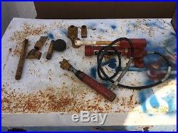 Snap On Hydraulic Pump YA-301 4 Ton 7000 p. S. I. Set, For Parts