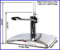 Square Base for Salon Styling Chair with Hydraulic Pump