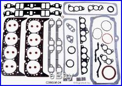 Stage 3 Master Engine Rebuild OverhaulKit for 1986-1995 Chevrolet SBC 350 TBI