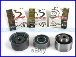 Timing Belt Kit Hydraulic Tensioner Water Pump for 99-06 Hyundai Kia 2.4L G4JS