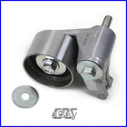 Timing Belt Kit Water Pump Hydraulic Tensioner V-Belt for 06-10 Hyundai Kia 2.7L