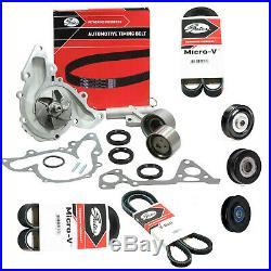 Timing Belt Kit+hydraulic Ten+water Pump For Mitsubishi Triton Mk 6g72 3.0l Sohc