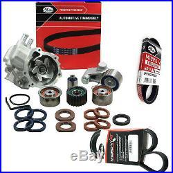 Timing Belt Kit+hydraulic+water Pump For Subaru Forester Sh Ej255 Ej25 Dohc
