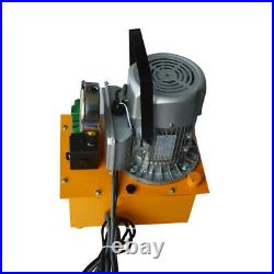 USA Stock! Electric Hydraulic Pump&CH-70 Hydraulic Hole Punching for Punching