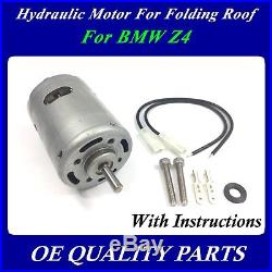 Upgrade Roof Hydraulic Pump for Convertible Top for BMW E85 Z4 Unit 54347193448