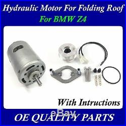 Upgrade Roof Hydraulic Pump motor for Convertible Top for BMW E85 Z4 54347193448