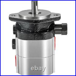 VEVOR 22GPM Log Splitter Pump withCoupler and Pump Mount 2-Hole for 3/4Crankshaft